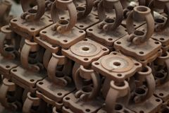 Material Valve for industrial royalty free stock photo