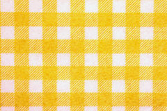 Material into yellow grid, a background. Stock Photo