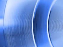 Materiale blu ed astratto Fotografie Stock