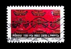 Materiale da ogni parte del mondo - Perù, serie di arte, circa 2011 Immagini Stock Libere da Diritti