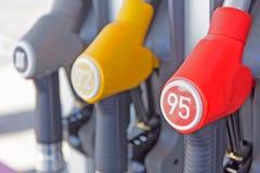Materiale da otturazione della pompa di benzina Fotografia Stock Libera da Diritti