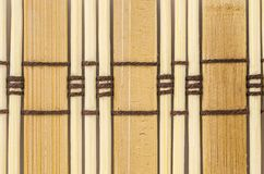materiale del modello della tenda di bambù Immagini Stock Libere da Diritti
