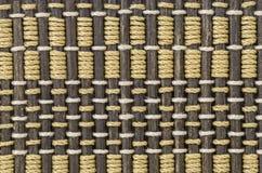 materiale del modello della tenda di bambù Immagine Stock