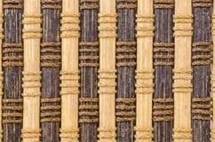 materiale del modello della tenda di bambù Fotografia Stock