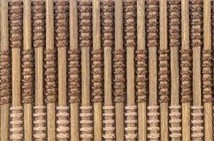materiale del modello della tenda di bambù Immagine Stock Libera da Diritti