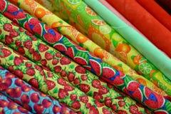 Materiale del tessuto Fotografia Stock
