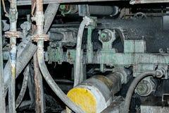 Materiale dell'amianto dell'ardesia di produzione Immagine Stock