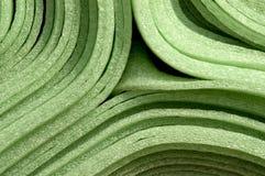 Materiale della gomma piuma Fotografia Stock