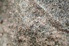 Materiale della roccia da un monumento del granito Fotografie Stock