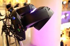 Materiale di illuminazione professionale per show business Immagine Stock