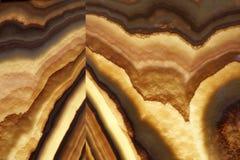 Materiale di pietra naturale superiore di Brown Fotografia Stock Libera da Diritti
