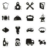 Materiale di riempimento a mano libera delle icone di affari di approvvigionamento royalty illustrazione gratis