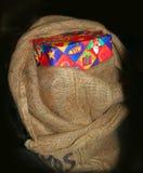 Materiale di riempimento olandese del sacchetto ?di Sinterklaas? - Fotografia Stock