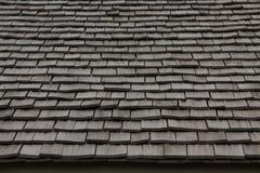Materiale di tetto di legno. struttura. thatch Fotografia Stock