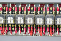 Materiale elettrico industriale fotografia stock libera da diritti