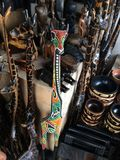 Materiale illustrativo africano della giraffa Fotografie Stock