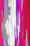Materiale illustrativo astratto di stile della pittura a olio su tela Fotografia Stock Libera da Diritti