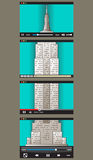 Materiale illustrativo creativo per video produzione royalty illustrazione gratis