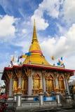 Materiale illustrativo del buddista di architettura Immagine Stock Libera da Diritti