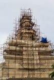 Materiale illustrativo del buddista di architettura Fotografie Stock Libere da Diritti