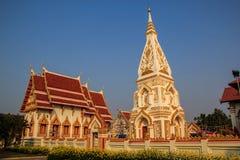 Materiale illustrativo del buddista di architettura Fotografia Stock Libera da Diritti