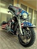 Materiale illustrativo di Harley Davidson Immagine Stock Libera da Diritti