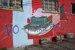 Materiale illustrativo di Valparaiso Immagine Stock