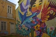 Materiale illustrativo di Valparaiso Fotografia Stock Libera da Diritti
