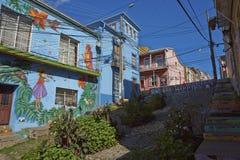 Materiale illustrativo di Valparaiso Immagine Stock Libera da Diritti
