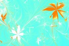 materiale illustrativo generato da computer di frattale 3d per arte creativa illustrazione di stock