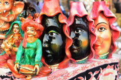 Materiale illustrativo indiano Immagine Stock Libera da Diritti