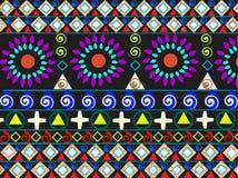 Materiale illustrativo tribale illustrazione vettoriale