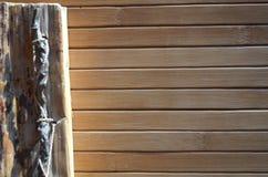 Materiale naturale, fondo di legno, immagine stock