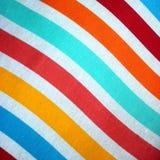 Materiale o tessuto di Stripey Immagine Stock Libera da Diritti