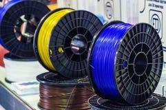 Materiale per stampa 3D Fotografia Stock Libera da Diritti