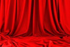Materiale rosso Fotografie Stock Libere da Diritti
