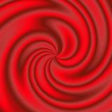 Materiale rosso turbinato Fotografie Stock Libere da Diritti
