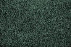 Materiale verde della lana fotografia stock libera da diritti