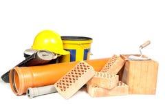 Materiales de construcción Imágenes de archivo libres de regalías