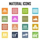 Materiales de construcción Stock de ilustración
