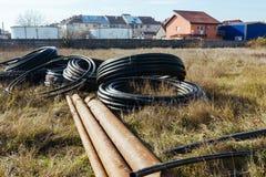 Materiales de construcción para un hogar Foto de archivo