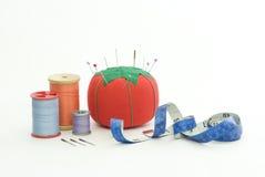 Materiales de costura Imagen de archivo