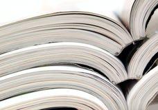 Materiales de lectura foto de archivo libre de regalías