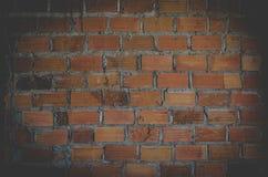 Materiales del ladrillo que construyen el fondo de la textura de la pared Imágenes de archivo libres de regalías