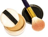 Materiales del maquillaje imagenes de archivo