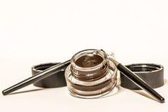 Materiales del maquillaje aislados fotografía de archivo libre de regalías