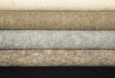 Materiales mezclados de las lanas para coser Fotos de archivo libres de regalías
