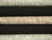 Materiales mezclados de las lanas para coser Foto de archivo