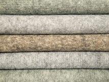 Materiales mezclados de las lanas para coser Fotografía de archivo libre de regalías