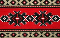 Materiales tradicionales y bordado búlgaro imagenes de archivo